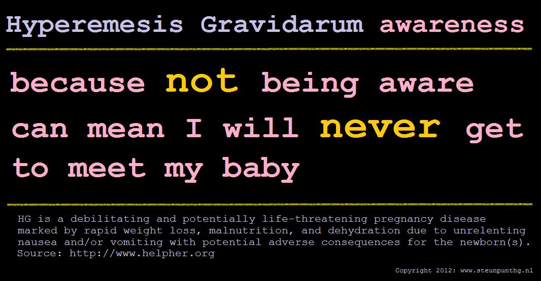 Hg Awareness Baby