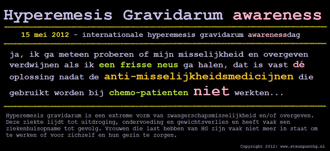 Hg Awareness Medicijnen + Dag