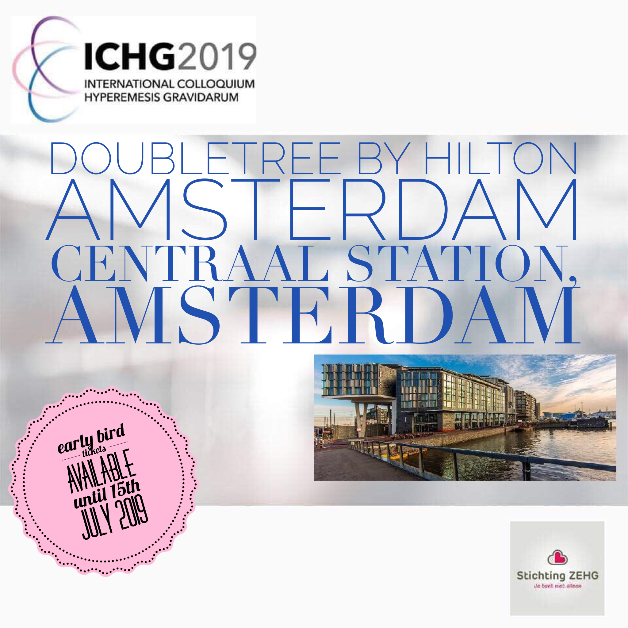 ICHG2019 Early Bird Tickets