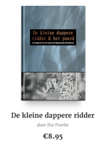 Boek Over HG: De Kleine Dappere Ridder
