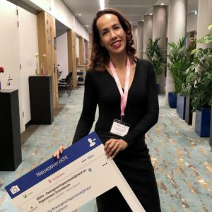 Secretaris Jessica Spreij-Sinay