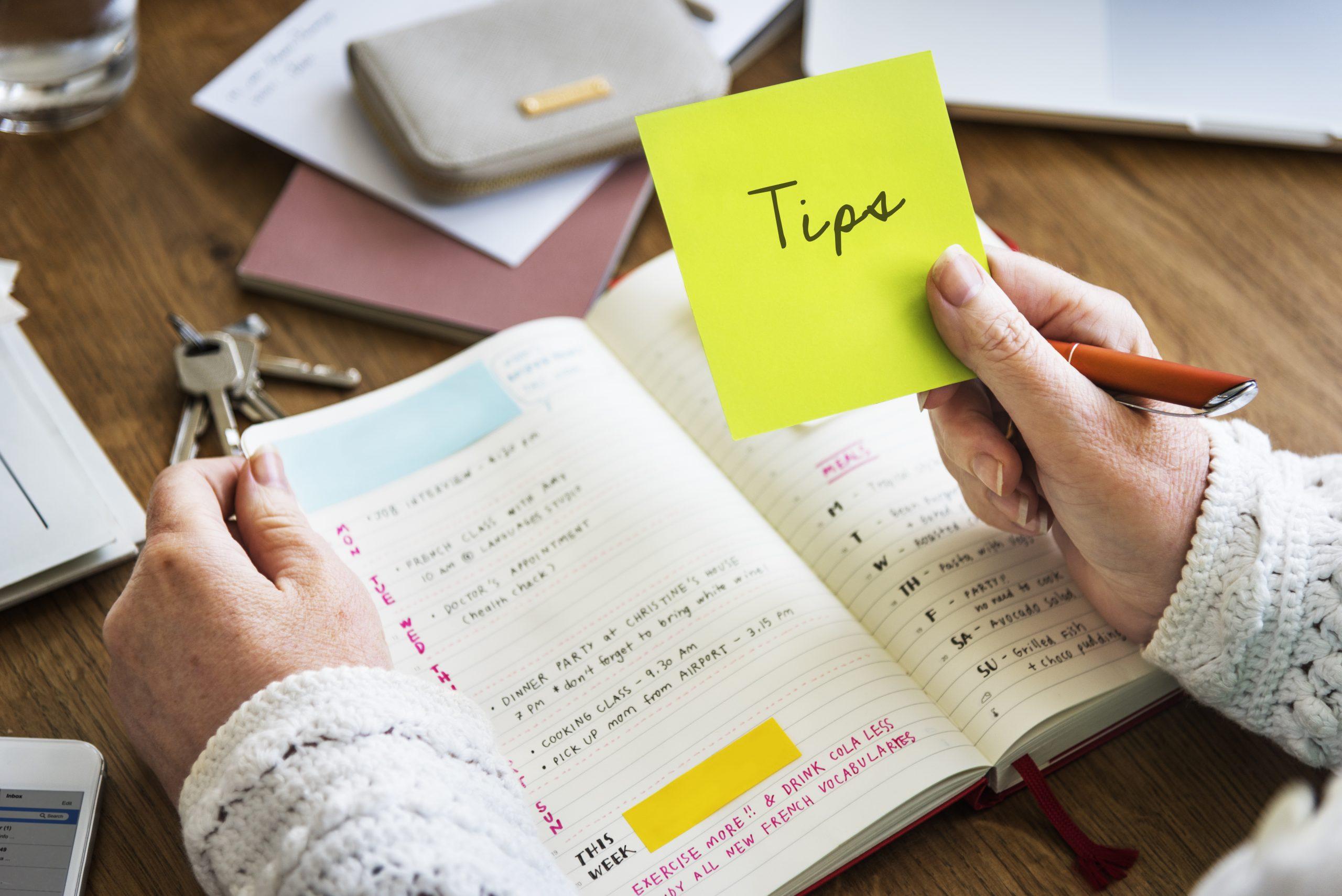 Praktische tips voor zorgverleners